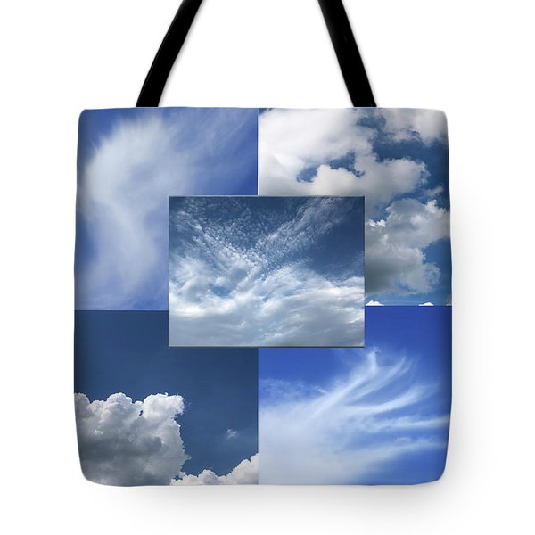 Cloud Collage Two Tote Bag