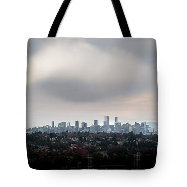 Cloud On Vancouver  Tote Bag