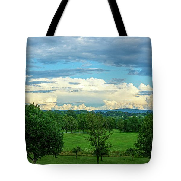 Cloud View Lehigh Valley Tote Bag