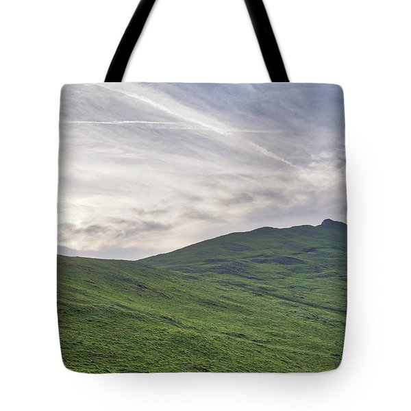 Clouds Over Thorpe Cloud Tote Bag