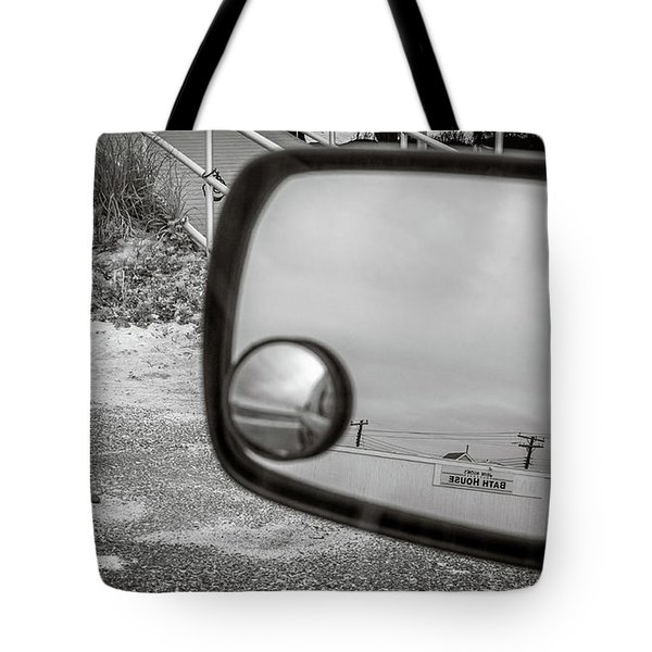 Cloudy Day Reflection Tote Bag