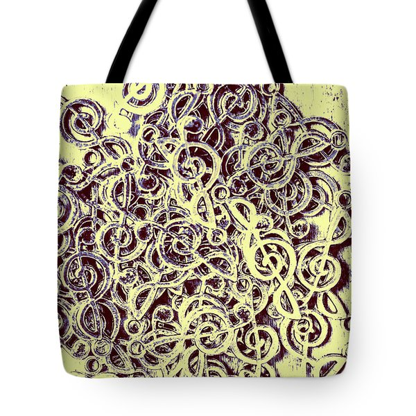 Club Of Clefs Tote Bag