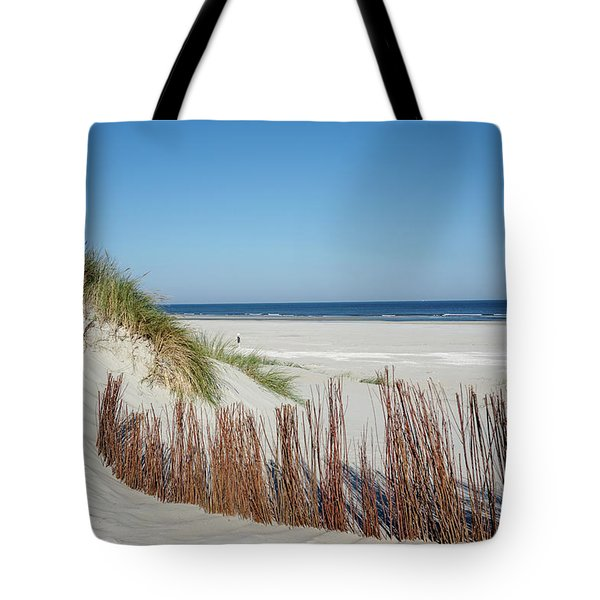 Tote Bag featuring the photograph Coast Ameland by Anjo Ten Kate