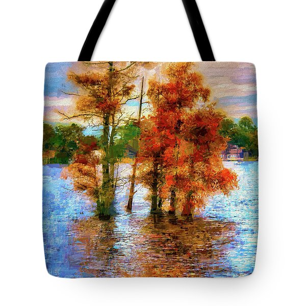 Coastal Autumn In North Carolina Ap Tote Bag