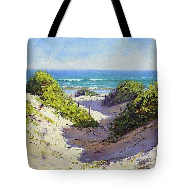 Coastal Dunes Tote Bag