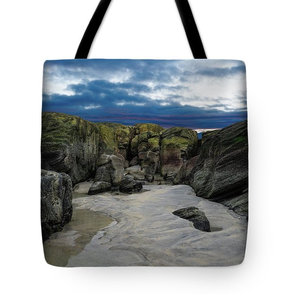 Coastline Castle Tote Bag