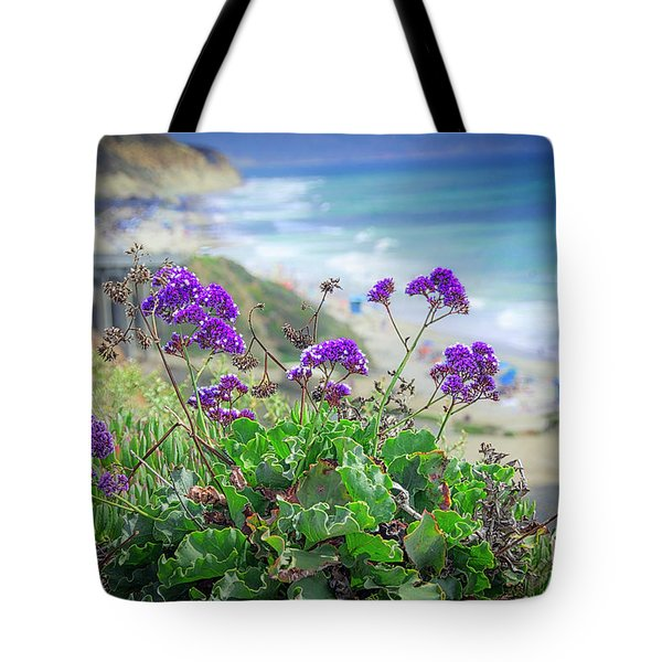 Coastline Color Tote Bag
