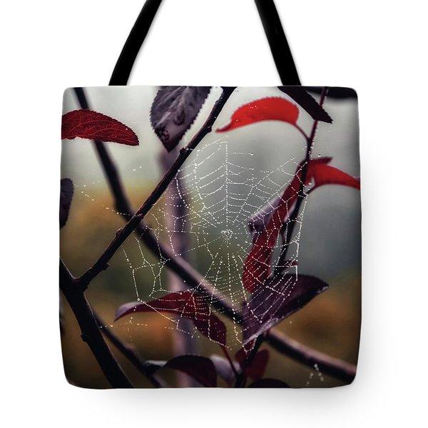 Cobweb Tote Bag