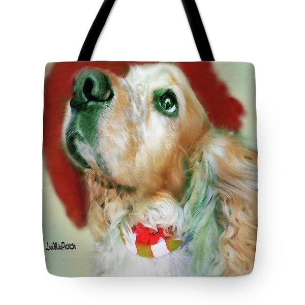 Cocker Spaniel Painting Tote Bag