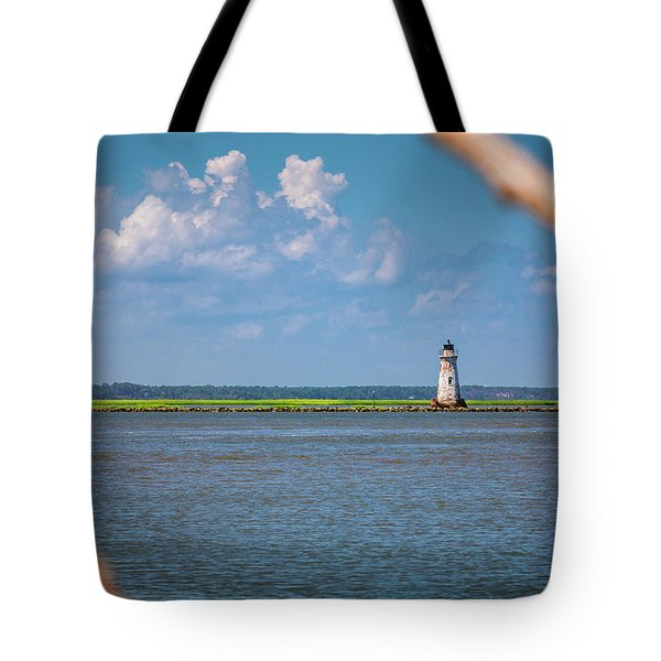 Cockspur Island Light Tote Bag