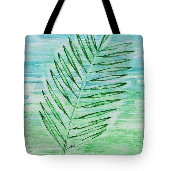 Coconut Leaf Tote Bag