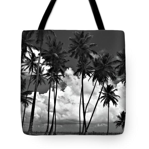 Coconut Trees At Mayaro Tote Bag