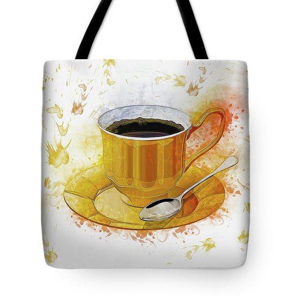 Coffee Art Tote Bag