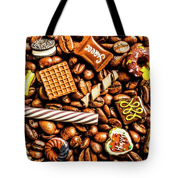 Coffee Candy Tote Bag