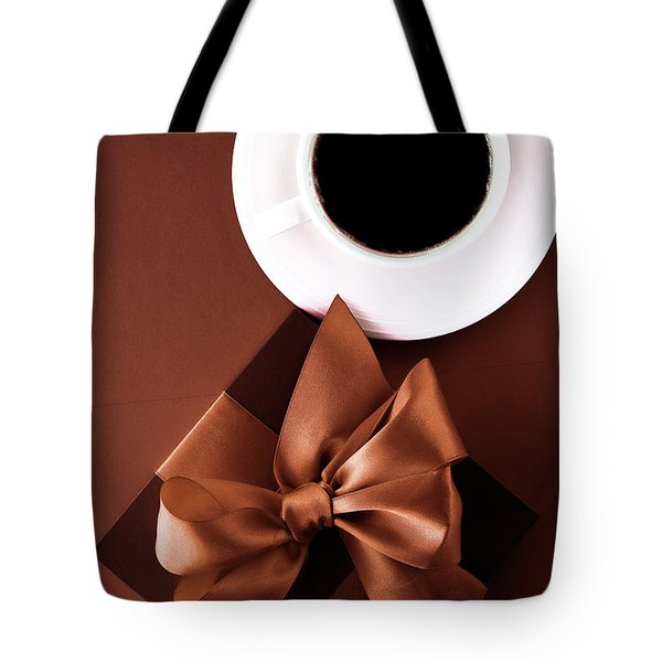 Tote Bag featuring the photograph Coffee Luxury II by Anne Leven