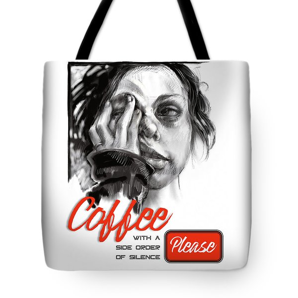 Coffee With A Side Tote Bag