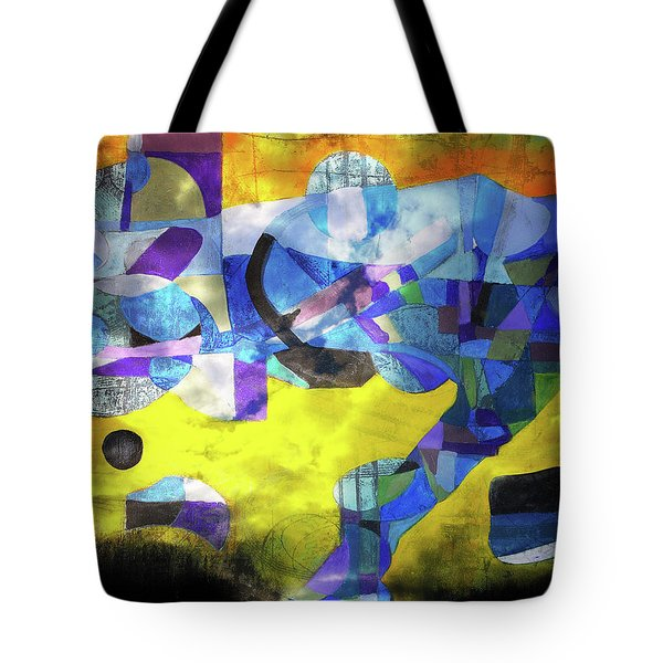 Cold Evening Wind Tote Bag
