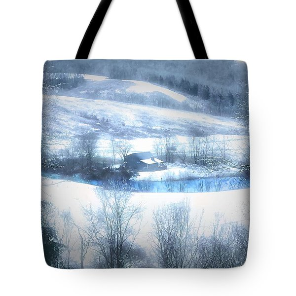 Cold Valley Tote Bag
