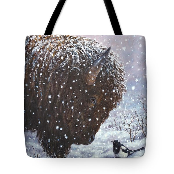 Cold Weather Cohorts Tote Bag