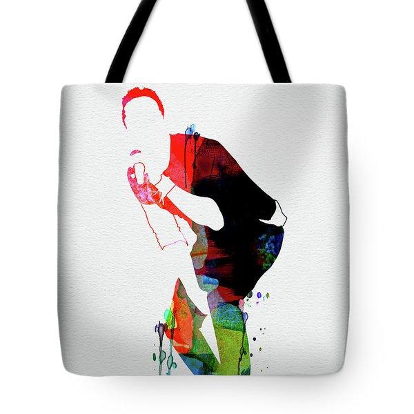 Coldplay Watercolor Tote Bag