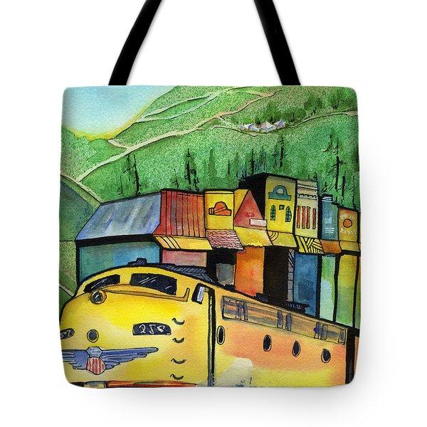 Colfax California Tote Bag