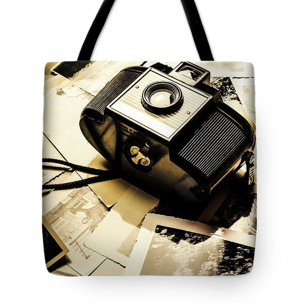 Collecting Scenes Tote Bag