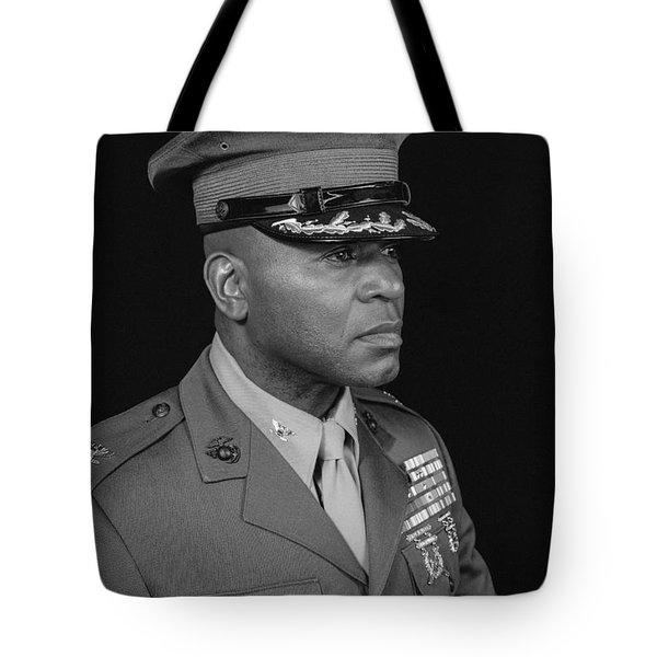 Tote Bag featuring the photograph Colonel Al Trimble by Al Harden