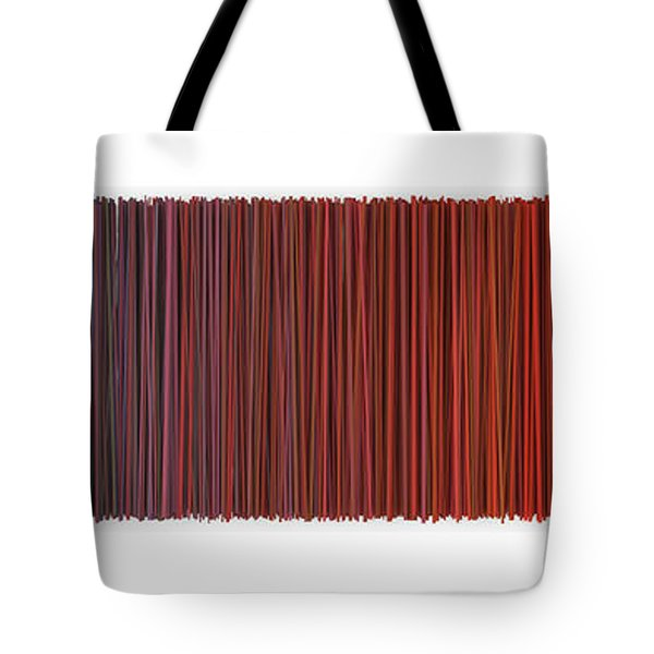 Color And Lines 6 Tote Bag