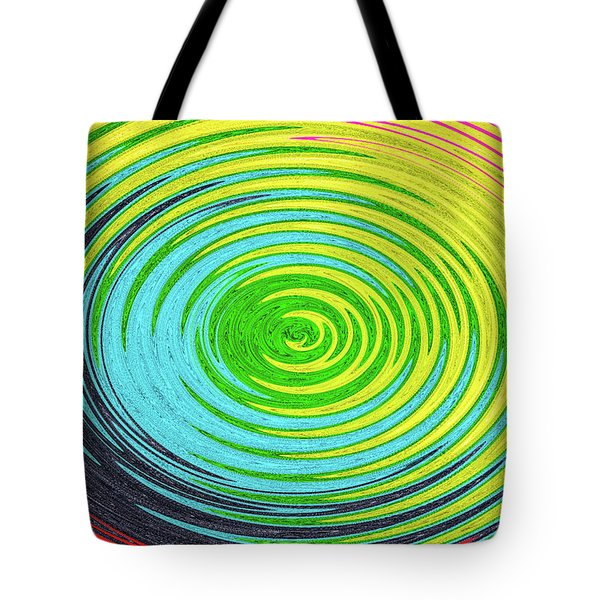 Tote Bag featuring the photograph Color Fabric Warp by SR Green