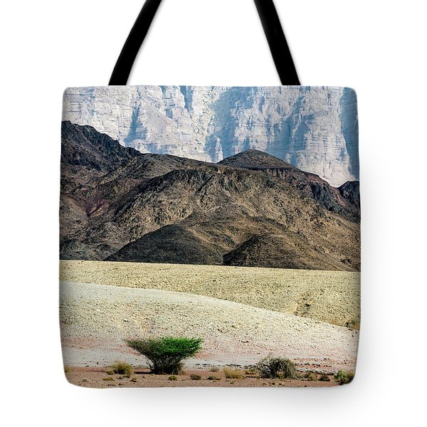 Color Layers In The Desert Tote Bag