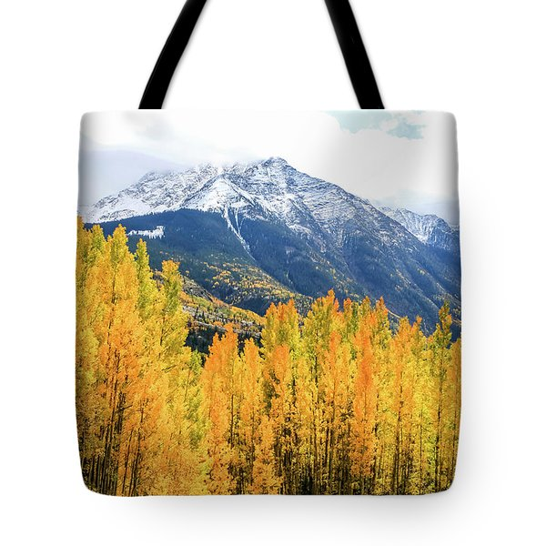 Colorado Aspens And Mountains 2 Tote Bag