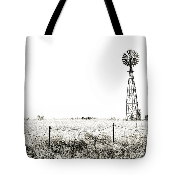 Tote Bag featuring the photograph Colorado Windmill by Andy Crawford