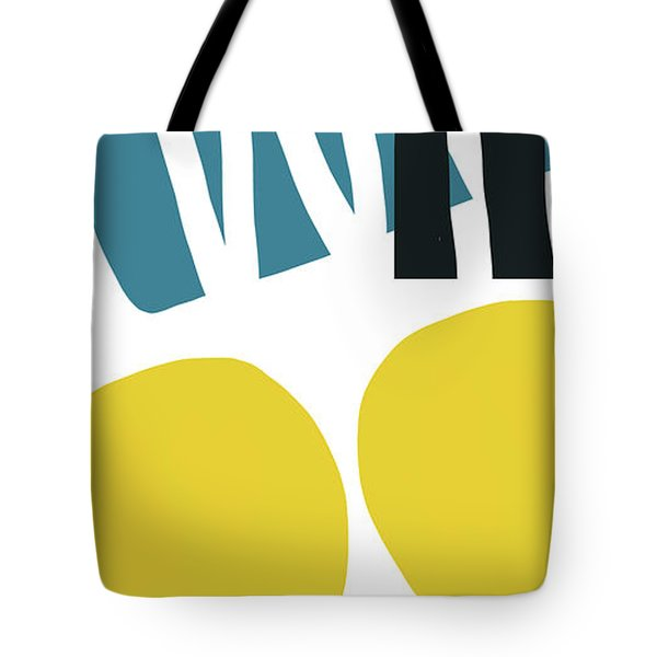 Tote Bag featuring the digital art Colorful Bento 2-art By Linda Woods by Linda Woods