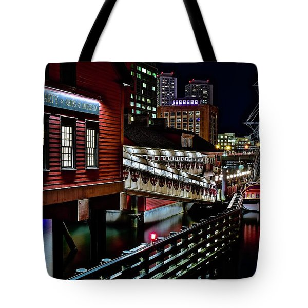 Colorful Boston Museum Tote Bag