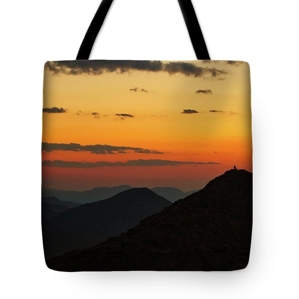 Evening At Mount Evans Tote Bag