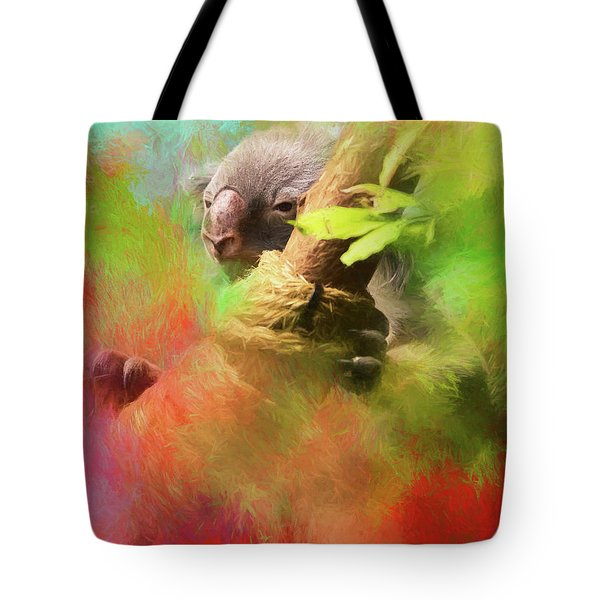 Colorful Koala Tote Bag