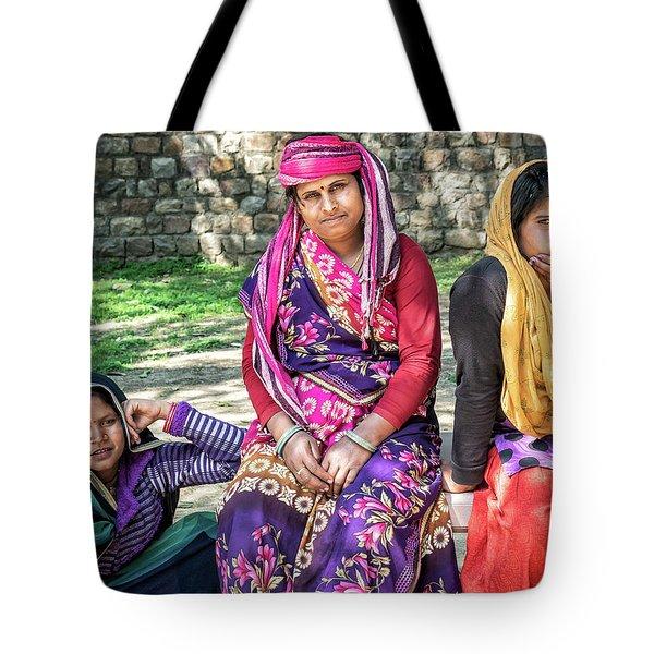 Colorful Ladies Tote Bag