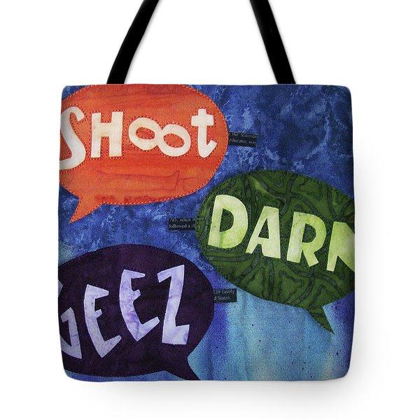 Colorful Language Tote Bag