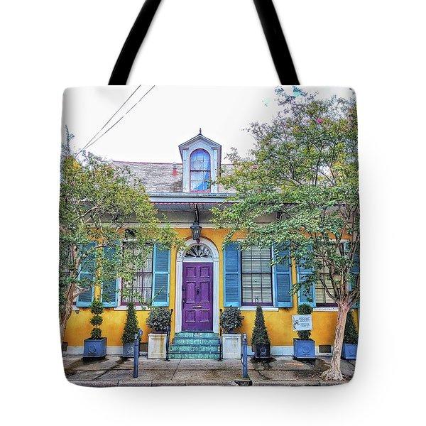 Colorful Nola Tote Bag
