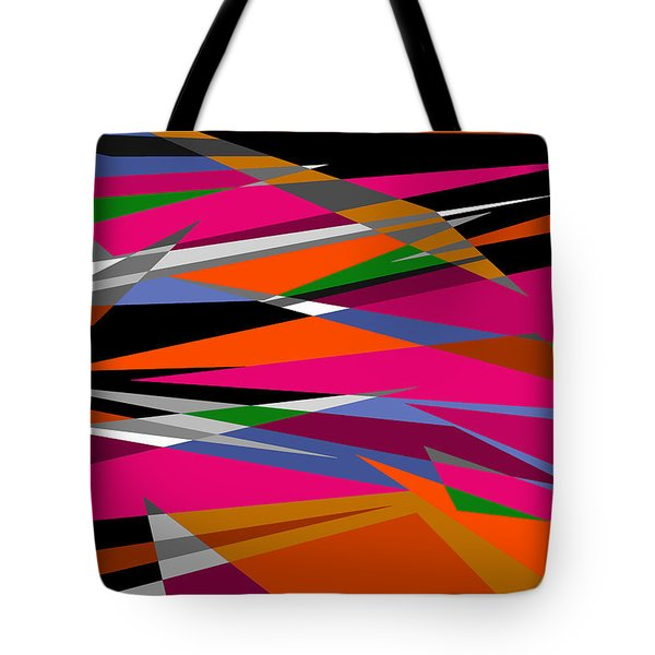 Colorful Reaction Tote Bag