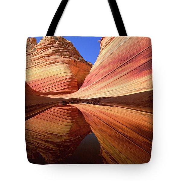 Colorful Sandstone Colorado Tote Bag