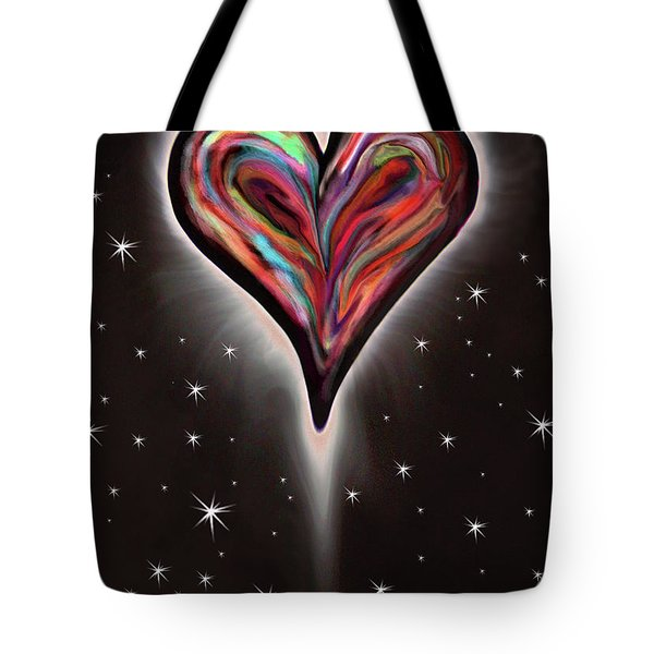 Colorful Total Eclipse Of The Heart 1 Tote Bag