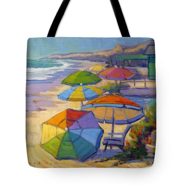 Colors Of Crystal Cove Tote Bag
