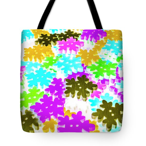 Colors Of Frost Tote Bag
