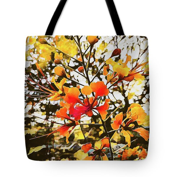 Colourful Leaves Tote Bag