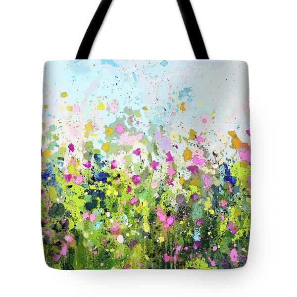 Colourful Meadow 41 Tote Bag