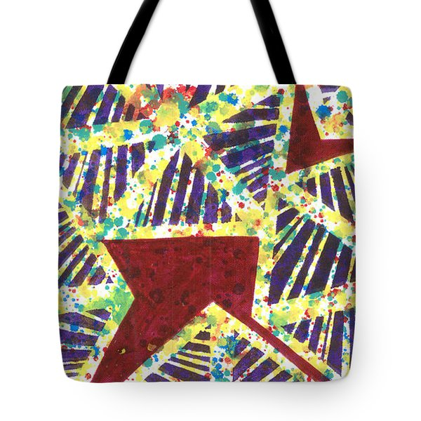 Colourful Webs  Tote Bag