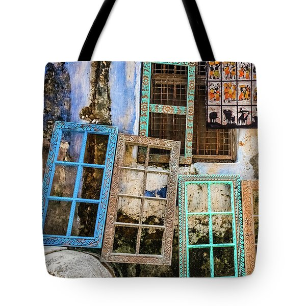 Colorful Window Frames Tote Bag