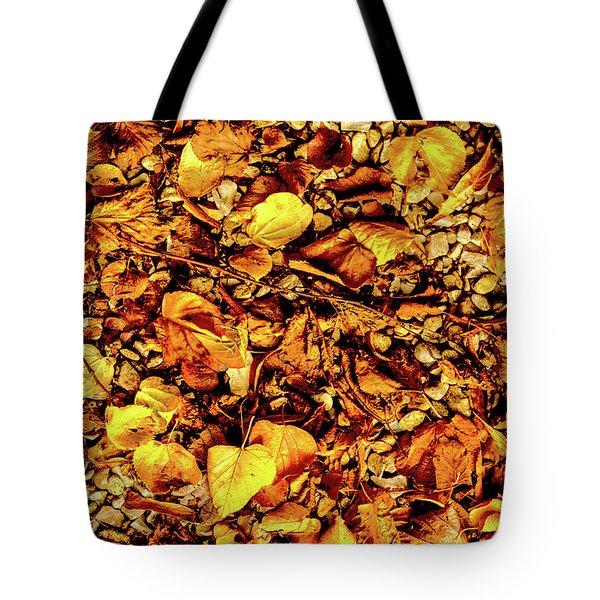 Colours. Autumn Gold Tote Bag