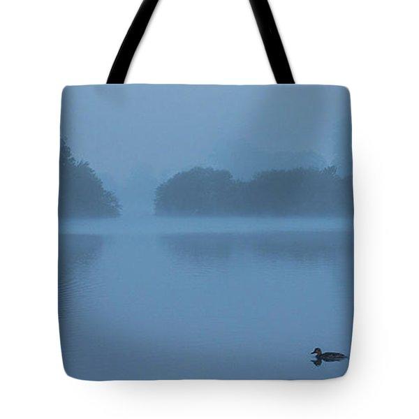 Misty Dawn Tote Bag